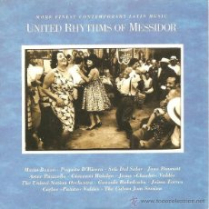 CDs de Música: VV. AA. - UNITED RHYTHMS OF MESSIDOR - MORE FINEST CONTEMPORARY LATIN MUSIC (CD, ALBUM, COMP, CAR). Lote 54974373