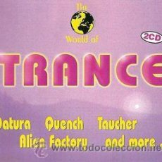 CDs de Música: VV. AA. - THE WORLD OF TRANCE (2XCD, COMP). Lote 54974449