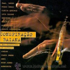 CDs de Música: VV. AA. - CONSPIRAÇÃO BAIANA - NEW DIMENSIONS IN AXÉMUSIC (CD, COMP). Lote 54974687
