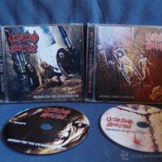 CDs de Música: VELOCIDAD ABSURDA, DEATH METAL, BRUTAL DEATH. Lote 54977638