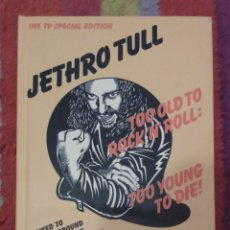CDs de Música: JETHRO TULL (TOO OLD TO ROCK N ROLL: TOO YOUNG TO DIE!) 2 CD'S + 2 DVD'S * PRECINTADO. Lote 54985538