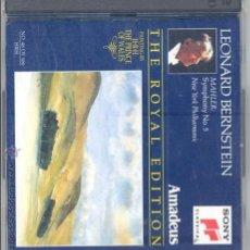 CDs de Música: MAHLER, SINFONIA 5 (2CD), LEONARD BERNSTEIN. Lote 31199528