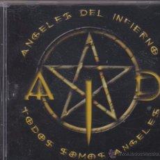 CDs de Música: ÁNGELES DEL INFIERNO - TODOS SOMOS ÁNGELES. Lote 54988933