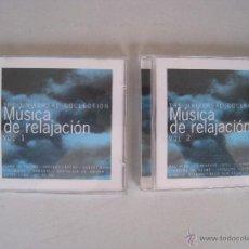 CDs de Música: 2 CDS - MUSICA DE RELAJACION - VOL. 1 Y 2 - THE UNIVERSAL COLLECTION.. Lote 54991894