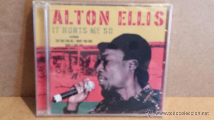 ALTON ELLIS. IT HURTS ME SO. CD / DYNAMIC - 2006 - 12 TEMAS / PRECINTADO A ESTRENAR. (Música - CD's Reggae)