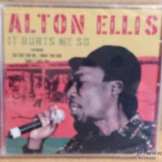 CDs de Música: ALTON ELLIS. IT HURTS ME SO. CD / DYNAMIC - 2006 - 12 TEMAS / PRECINTADO A ESTRENAR.. Lote 54997293