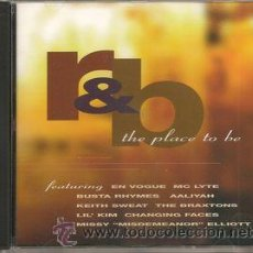CDs de Música: VV. AA. - R&B THE PLACE TO BE (CD, COMP, PROMO). Lote 55019099