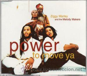 ZIGGY MARLEY AND THE MELODY MAKERS - POWER TO MOVE YA (CD, MAXI) (Música - CD's Reggae)