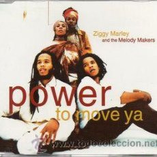 CDs de Música: ZIGGY MARLEY AND THE MELODY MAKERS - POWER TO MOVE YA (CD, MAXI). Lote 55020228