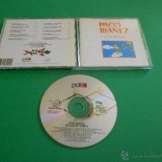 CDs de Música: PACO IBAÑEZ ( A FLOR DE TIEMPO ) - CD - PDI 80.4249 - TRISTE HISTORIA - EL PASTORCITO .... Lote 55029442