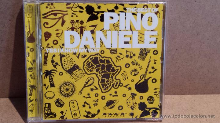 THE BEST OF PINO DANIELE. YES I KNOW MY WAY. CD / EW - 1998 - 16 TEMAS / CALIDAD LUJO. (Música - CD's Melódica )