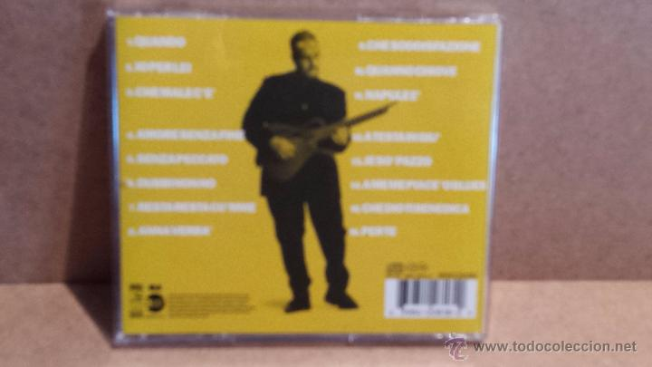 CDs de Música: THE BEST OF PINO DANIELE. YES I KNOW MY WAY. CD / EW - 1998 - 16 TEMAS / CALIDAD LUJO. - Foto 2 - 55034710