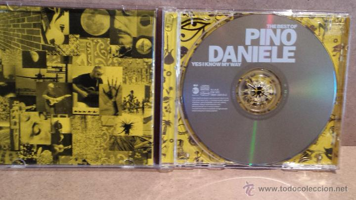 CDs de Música: THE BEST OF PINO DANIELE. YES I KNOW MY WAY. CD / EW - 1998 - 16 TEMAS / CALIDAD LUJO. - Foto 3 - 55034710