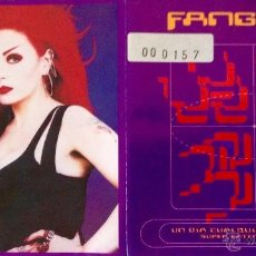 CDs de Música: FANGORIA UN DÍA CUALQUIERA EN VULCANO (SUPER EXTENDED PLAY 1.0) CD EP + REMIX. Lote 55040705