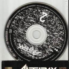 CDs de Música: ANTHRAX ONLY PART 2 OF A 2 CD SET.RAREZA.1993. Lote 55058937