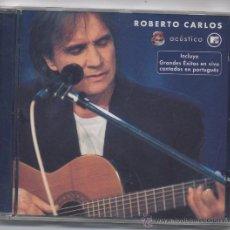 CDs de Música: ROBERTO CARLOS-ACUSTICO MTV-EN PORTUGUES. Lote 55058985