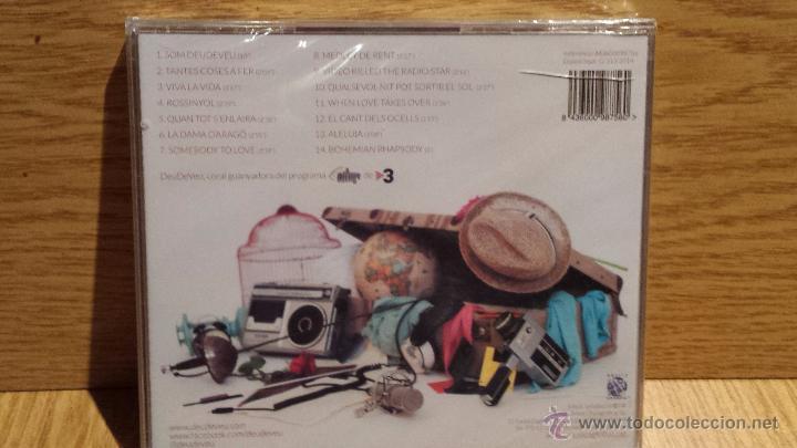 CDs de Música: DEU DE VEU. GRUP VOCAL. FINALISTAS OH HAPPY DAY - TV3. CD / GLOBAL - 2014. 14 TEMAS / PRECINTADO. - Foto 2 - 55085466