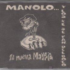 CDs de Música: MANOLO KABEZABOLO Y LOS KE SE VAN DEL BOLO CD SINGLE PROMO LA NUEVA MAYORÍA 1997. Lote 55085786