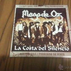 CDs de Música: MAGO DE OZ. LA COSTA DEL SILENCIO. CD PROMO EN CARTÓN. MAGNÍFICO ESTADO. RARÍSIMO. Lote 55087134