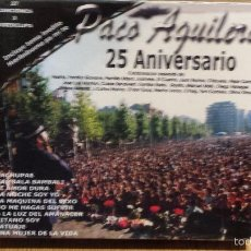 CDs de Música: PACO AGUILERA. FOREVER / 25 ANIVERSARIO. PACK 2 CDS - 27 TEMAS + 3 VIDEOS / PRECINTADO.. Lote 55101236