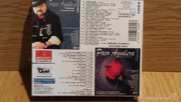 CDs de Música: PACO AGUILERA. FOREVER / 25 ANIVERSARIO. PACK 2 CDS - 27 TEMAS + 3 VIDEOS / PRECINTADO. - Foto 2 - 55101236