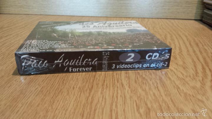 CDs de Música: PACO AGUILERA. FOREVER / 25 ANIVERSARIO. PACK 2 CDS - 27 TEMAS + 3 VIDEOS / PRECINTADO. - Foto 3 - 55101236