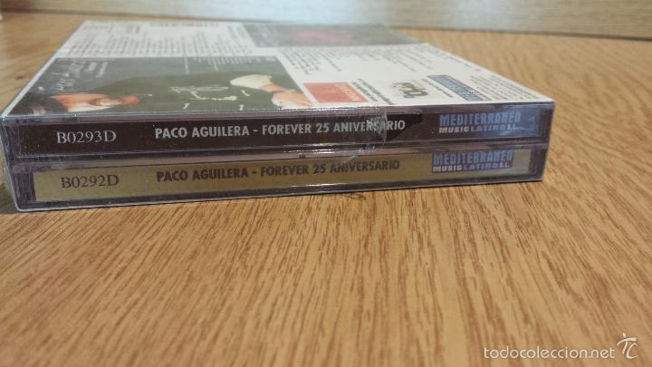 CDs de Música: PACO AGUILERA. FOREVER / 25 ANIVERSARIO. PACK 2 CDS - 27 TEMAS + 3 VIDEOS / PRECINTADO. - Foto 4 - 55101236