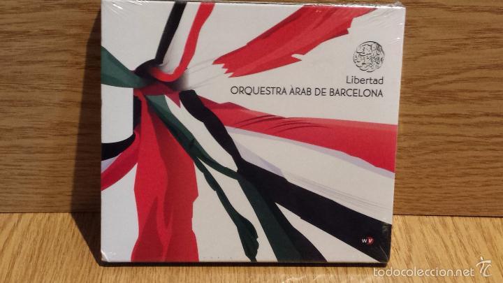 ORQUESTRA ÀRAB DE BARCELONA - LIBERTAD. CD / WORLD VILLAGE - 2011. 13 TEMAS / PRECINTADO. (Música - CD's World Music)