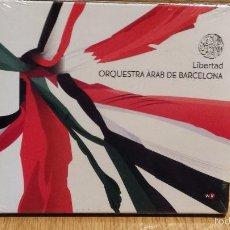 CDs de Música: ORQUESTRA ÀRAB DE BARCELONA - LIBERTAD. CD / WORLD VILLAGE - 2011. 13 TEMAS / PRECINTADO.. Lote 55103342