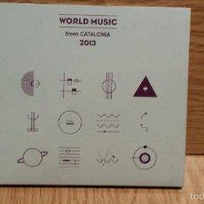 CDs de Música: WORLD MUSIC FROM CATALONIA 2013. DIGIPACK-CD / 18 TEMAS - CALIDAD LUJO.. Lote 55111455