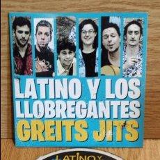 CDs de Música: LATINO Y LOS LLOBREGANTES. GREITS JITS. CD-PROMO / LUJO / ENVÍO INCLUIDO.. Lote 55121316