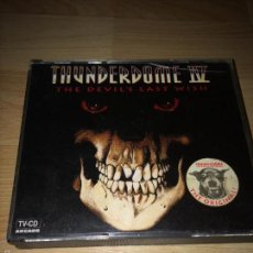 CDs de Música: THUNDERDOME IV - THE DEVEL'S LAST WISH - 2 CDS DOBLE CD -. Lote 99387907