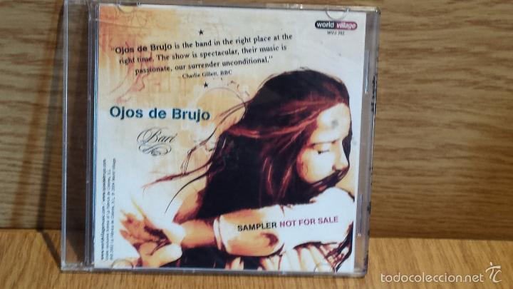 OJOS DE BRUJO. SAMPLER NO FOR SALE. CD / WORLD VILLAGE / CALIDAD LUJO (Música - CD's Hip hop)