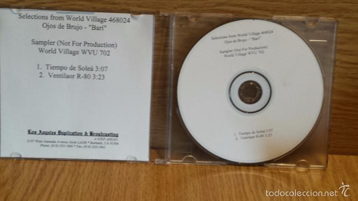 CDs de Música: OJOS DE BRUJO. SAMPLER NO FOR SALE. CD / WORLD VILLAGE / CALIDAD LUJO - Foto 2 - 55138336