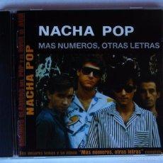 CDs de Música: NACHA POP - MAS NUMEROS, OTRAS LETRAS (CD) 2002 - 15 TEMAS. Lote 55140526