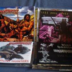 CDs de Música: AGATHOCLES. LOTE 4 CD. GRINDCORE. GRIND. DEATH METAL. Lote 55157451