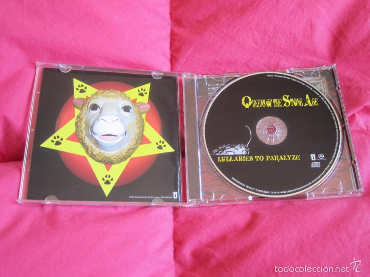 CDs de Música: QUEENS OF THE STONE AGE - LULLABIES TO PARALYZE CD - STONER ROCK - Foto 2 - 55158171