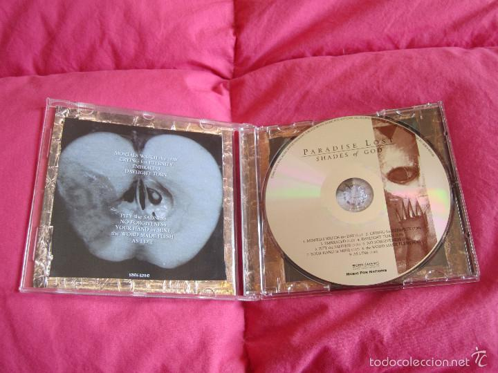CDs de Música: PARADISE LOST - SHADES OF GOD CD - DOOM METAL - Foto 2 - 55158729