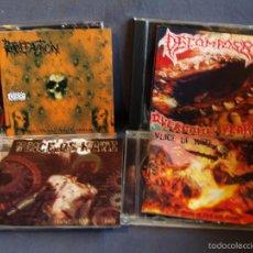 CDs de Música: LOTE 4 CD. DEATH METAL. BRUTAL DEATH.. Lote 55228546