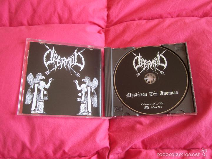 CDs de Música: OFERMOD - MYSTÉRION TÉS ANOMIAS CD - BLACK METAL DEATH METAL - Foto 2 - 55236148