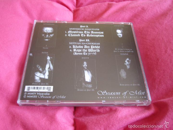 CDs de Música: OFERMOD - MYSTÉRION TÉS ANOMIAS CD - BLACK METAL DEATH METAL - Foto 3 - 55236148