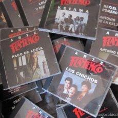 CDs de Música: LOTE 42 CDS ARTE FLAMENCO..PACO DE LUCIA..LOS CHICHOS..KETAMA..ECT EXCELENTE ESTADO. Lote 55238481