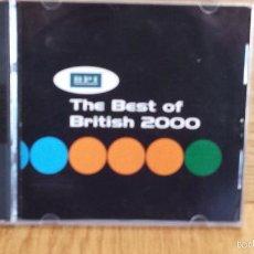 CDs de Música: THE BEST OF BRITISH 2000. VARIOS ARTISTAS / COMPILACIÓN. DOBLE CD-PROMOVIRGIN ATLANTIC. Lote 55241512