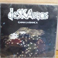CDs de Música: DESKARAOS. GANA LA BANCA. CD-AUTOEDITADO - 2011 - 9 TEMAS / PRECINTADO.. Lote 166503862