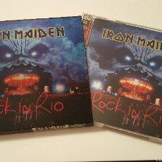 CDs de Música: IRON MAIDEN ROCK IN RIO SPECIAL EDITION. Lote 55322705