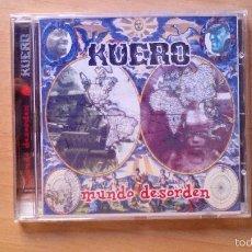 CDs de Música: KUERO - MUNDO DESORDEN CD 1999. Lote 55332722