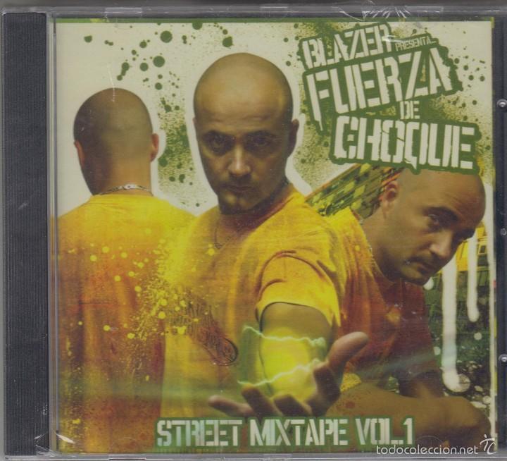 BLAZER PRESENTA FUERZA DE CHOQUE VOL. 1 CD STREET MIXTAPE 2006 BOA (Música - CD's Hip hop)