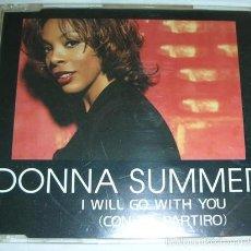 CDs de Música: DONNA SUMMER – I WILL GO WITH YOU (CON TE PARTIRÓ) - CD MAXI. Lote 55343395