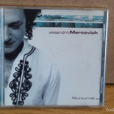 CDs de Música: ALEJANDRO MARCOVICH. NOCTURNAL. CD-EP / 2003. 4 TEMAS / CALIDAD LUJO.. Lote 55350193