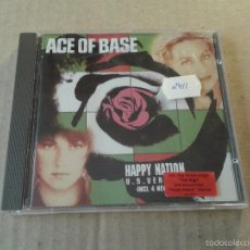 CDs de Música: HAPPY NATION, DE ACE OF BASE. U.S. VERSION (CD).. Lote 55350785